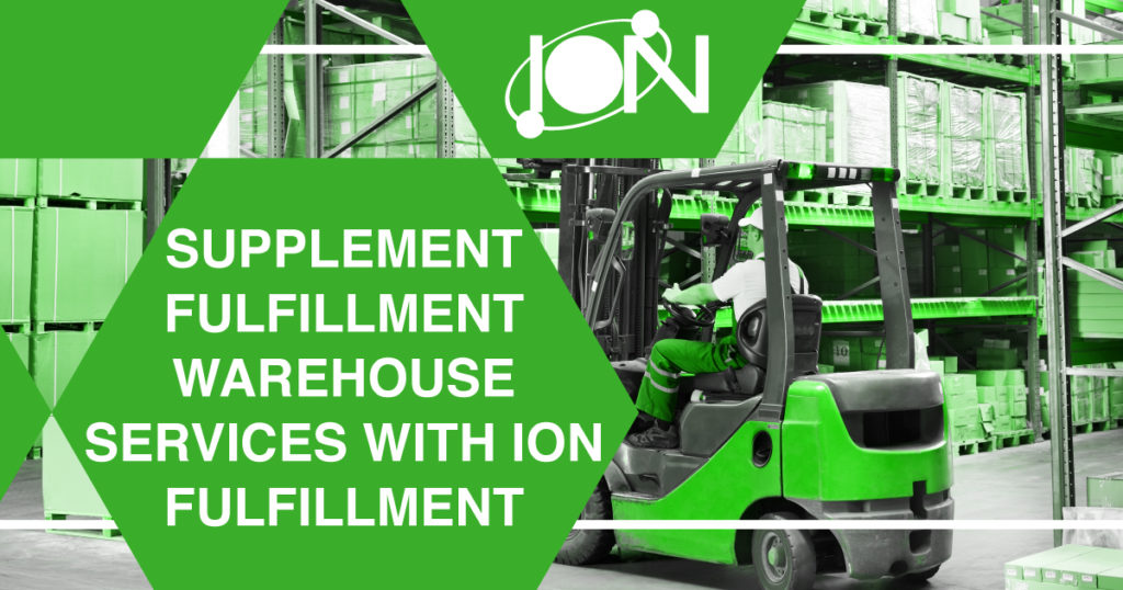 Supplement Fulfillment Warehouse Services with Ion Fulfillment
