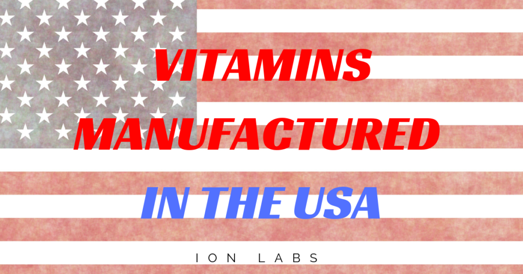 5 Key Benefits of Vitamins Manufactured in the USA