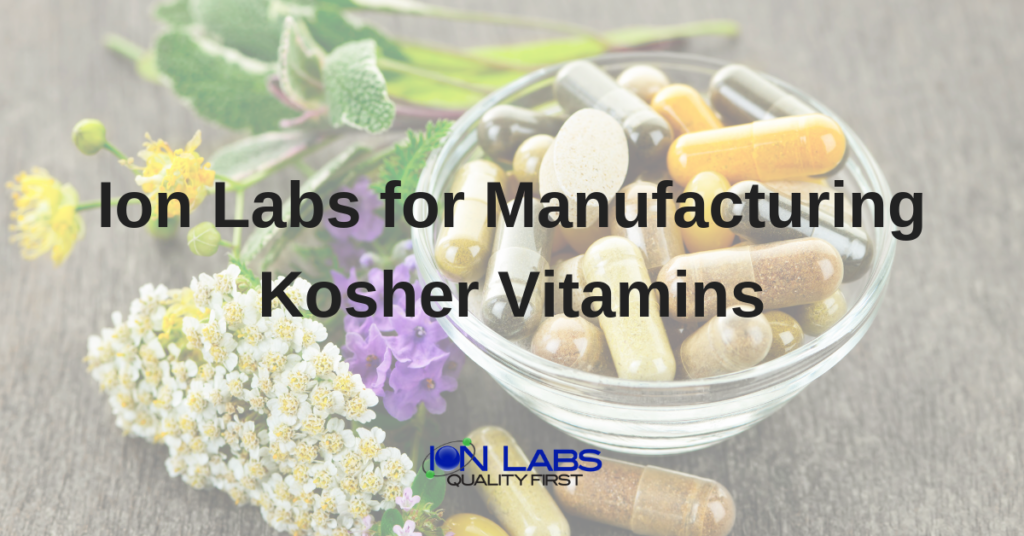 Manufacturing Kosher Vitamins in the USA