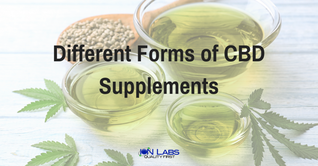 Choosing a CBD supplement That Fits Your Business