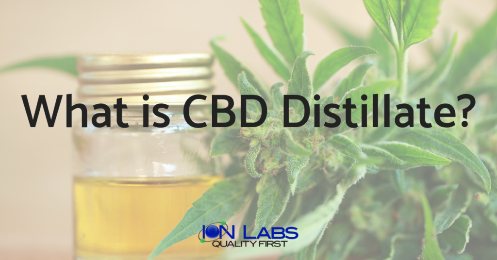What is the Difference between CBD Distillate and CBD Isolate?