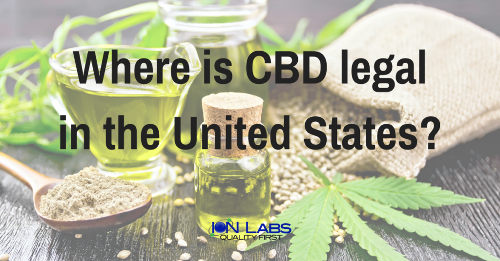 Where is CBD legal in the United States?